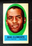 1963 Topps Peel-Offs #9  Roberto Clemente  Front Thumbnail