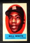 1963 Topps Peel-Offs #45  Bill White  Front Thumbnail