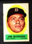 1963 Topps Peel-Offs #7  Jim Bunning  Front Thumbnail