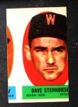 1963 Topps Peel-Offs #42  Dave Stenhouse  Front Thumbnail