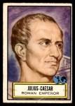 1952 Topps Look 'N See #84  Julius Caesar  Front Thumbnail