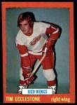 1973 Topps #124  Tim Ecclestone   Front Thumbnail