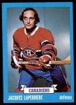 1973 Topps #137  Jacques Laperriere   Front Thumbnail