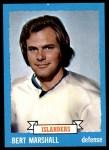 1973 Topps #51  Bert Marshall   Front Thumbnail