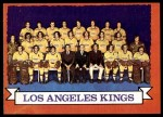 1973 Topps #98   Los Angeles Kings-Hockey Team Front Thumbnail