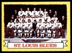 1973 Topps #105   Blues Team Front Thumbnail
