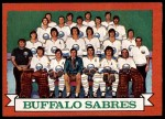 1973 Topps #94   Sabres Team Front Thumbnail