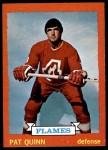 1973 Topps #61  Pat Quinn   Front Thumbnail