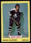 1973 Topps #163  Brian Glennie   Front Thumbnail
