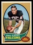1970 Topps #66  Paul Flatley  Front Thumbnail