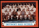 1973 Topps #97   Detroit Red Wings Team Front Thumbnail