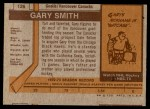 1973 Topps #126  Gary Smith   Back Thumbnail