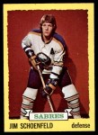 1973 Topps #86  Jim Schoenfeld   Front Thumbnail