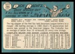 1965 Topps #295  Dick Radatz  Back Thumbnail