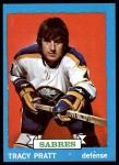 1973 Topps #54  Tracy Pratt   Front Thumbnail