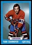 1973 Topps #115  Yvan Cournoyer   Front Thumbnail