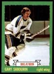 1973 Topps #184  Gary Sabourin   Front Thumbnail