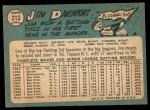 1965 Topps #213  Jim Davenport  Back Thumbnail