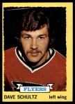 1973 Topps #149  Dave Schultz   Front Thumbnail