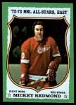 1973 Topps #190  Mickey Redmond   Front Thumbnail