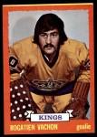 1973 Topps #64  Rogatien Vachon   Front Thumbnail