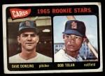 1965 Topps #116   -  Bobby Tolan / Dave Dowling Cardinals Rookies Front Thumbnail
