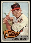 1965 Topps #33  Jackie Brandt  Front Thumbnail