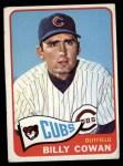 1965 Topps #186  Billy Cowen  Front Thumbnail