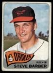 1965 Topps #113  Steve Barber  Front Thumbnail