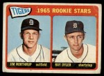 1965 Topps #259   -  Jim Northrup / Ray Oyler Tigers Rookies Front Thumbnail