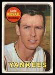 1969 Topps #626  Gene Michael  Front Thumbnail