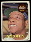 1969 Topps #617  Jesse Gonder  Front Thumbnail