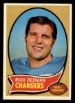 1970 Topps #118  Rick Redman  Front Thumbnail