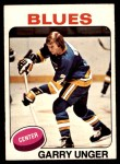 1975 O-Pee-Chee NHL #40  Garry Unger  Front Thumbnail