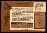 1975 O-Pee-Chee NHL #199  Clark Gillies  Back Thumbnail