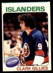 1975 O-Pee-Chee NHL #199  Clark Gillies  Front Thumbnail