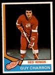 1974 O-Pee-Chee NHL #57  Guy Charron  Front Thumbnail