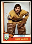 1974 O-Pee-Chee NHL #235  Rogatien Vachon  Front Thumbnail