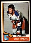 1974 O-Pee-Chee NHL #119  Walt Tkaczuk  Front Thumbnail
