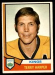 1974 O-Pee-Chee NHL #55  Terry Harper  Front Thumbnail