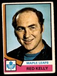 1974 O-Pee-Chee NHL #76  Red Kelly  Front Thumbnail