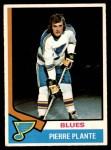 1974 O-Pee-Chee NHL #149  Pierre Plante  Front Thumbnail