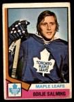 1974 O-Pee-Chee NHL #180  Borje Salming  Front Thumbnail