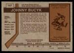 1973 O-Pee-Chee #147  Johnny Bucyk  Back Thumbnail
