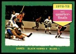 1973 O-Pee-Chee #193   Series C Blackhawks 4 Blues 1 Front Thumbnail