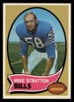 1970 Topps #252  Mike Stratton  Front Thumbnail
