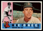 1960 Topps #54  Mike Fornieles  Front Thumbnail