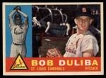 1960 Topps #401  Bob Duliba  Front Thumbnail