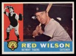 1960 Topps #379  Red Wilson  Front Thumbnail
