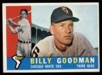 1960 Topps #69  Billy Goodman  Front Thumbnail